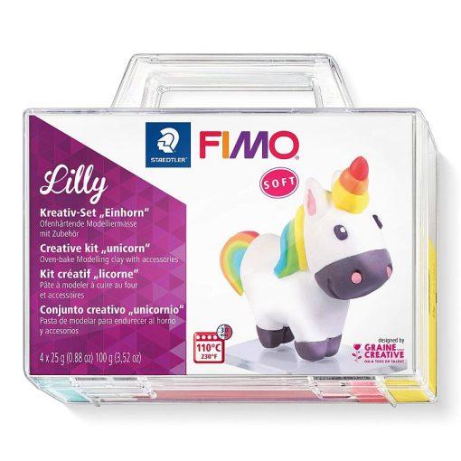 Staedtler - Set Creativ Plastilina Fimo soft 8025 Unicorn Lilly