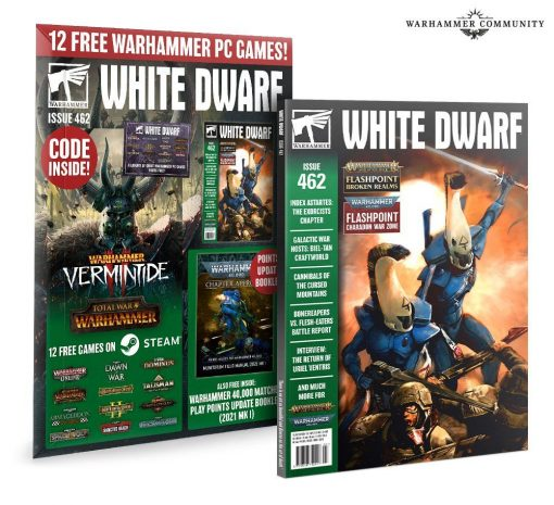 Warhammer White Dwarf issue 462