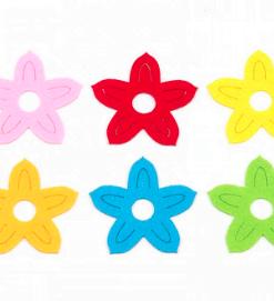 Flori din fetru decorativ CFA-042