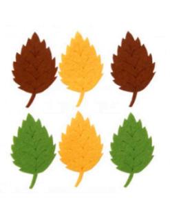 Frunze din fetru decorativ CFA-301