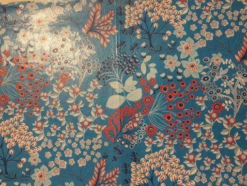 Hartie decopatch Flori albastru Lucas Art 524
