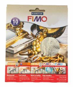 Foita metalica FIMO 8781 2 culori