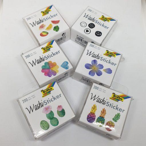 WashiSticker 200 piese Folia 2650 | 7 modele