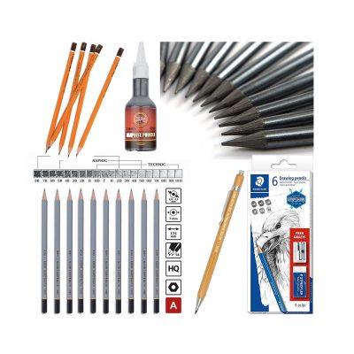 Creioane grafit