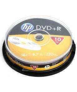DVD HP 4.7GB +R set 10