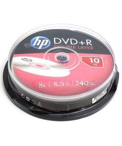 DVD+R HP 8.5GB DL set 10