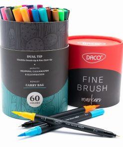 Daco Set 60 markere Fine Brush PX560