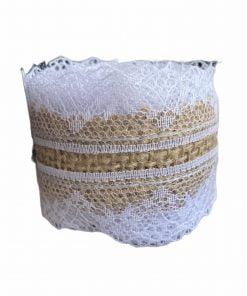 ent - Panglică din iută decorativă Waterford 371758