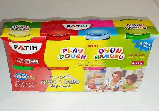 Plastilină moale Play Dough Fatih 8x50 grame Neon&Basic