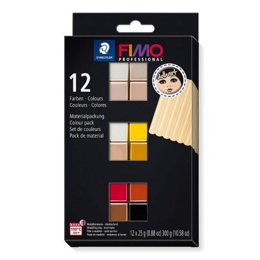 Set 12 x 25gr culori FIMO Professional Doll Art 8073