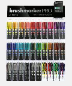 Brush marker Karin 27C14 | 60 culori