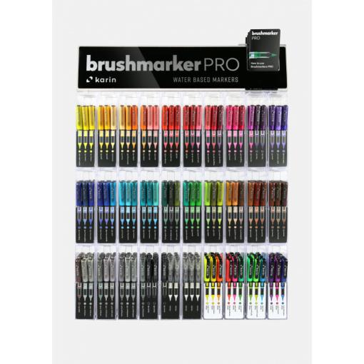 Brush marker Karin 27C14   60 culori
