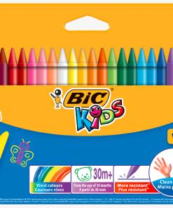 Creioane Plastidecor Bic set 12 sau 24