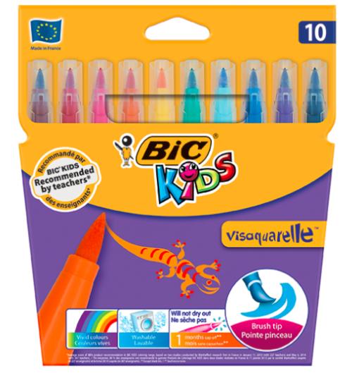 Carioci pensula VisAquarelle Bic set 10