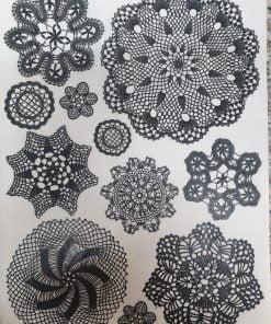 Mandala - Hartie de orez abstract ITD R549