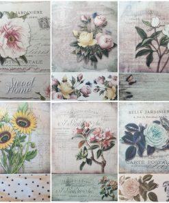 Carte postala - Hartie de orez Floral ITD