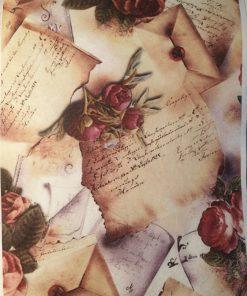 Scrisori - Hartie de orez romantic ITD R007