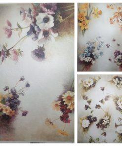 Mix - Hartie de orez floral ITD