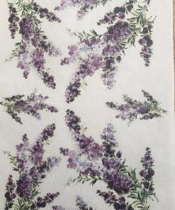 Lavanda - Hartie de orez floral ITD R746