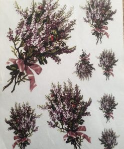 Brui - Hartie de orez Floral ITD R246