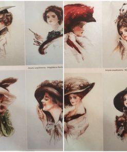 Portret ea - Hartie de orez persoane ITD | 2 modele