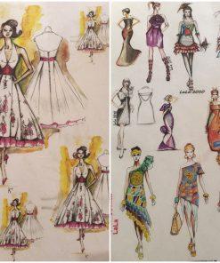 Fashion - Hartie de orez persoane ITD | 2 modele