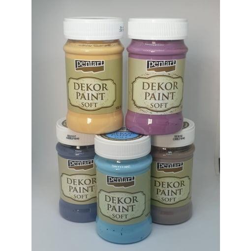 Vopsea decor moale PentArt | 10 culori