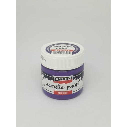 Vopsea acrilica lucioasa 50 ml PentArt | 37 culori