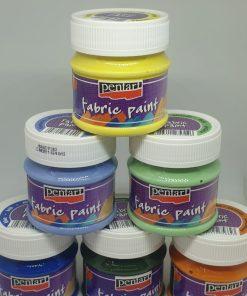 Vopsea pentru textile 50 ml PentArt | 17 culori