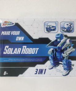 Kit constructie Solar Robot 3 in 1 Grafix