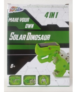 Kit constructie Solar Dinosaur 4 in 1 Grafix
