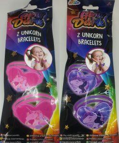 Set 2 bratari unicorn Glow in the Dark Grafix   2 modele