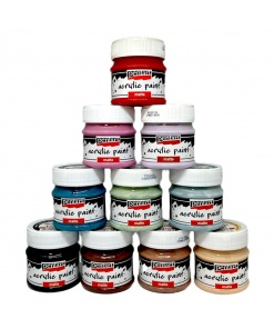 Vopsea acrilica mata 50 ml PentArt | 46 culori