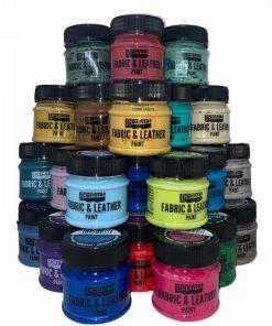 Vopsea textile & piele 50 ml PentArt | 26 culori