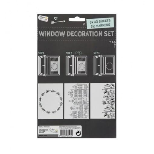 Set decorare geam Grafix CR0976/GE