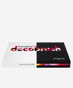 Set Pigment Decobrush Passion Colors Karin 29C6
