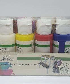 Set 4 culori pouring Nassan AR0704