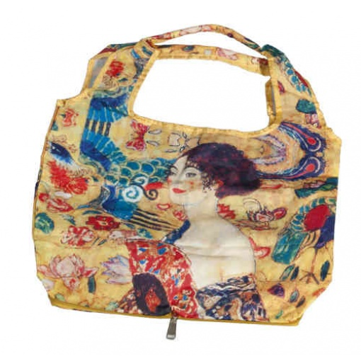 Sacosa Gustav Klimt Femeie cu evantai Fridolin 40517