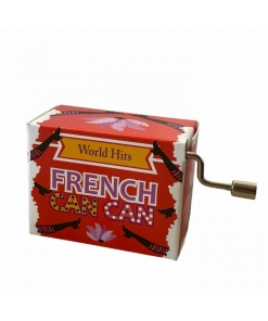 """Cutie muzicala """"French Cancan"""" Fridolin 58706"""