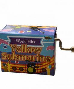 """Cutie muzicala """"Yellow Submarine"""" Fridolin 58713"""