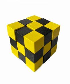 IQ Test cub galben/negru Fridolin 17417