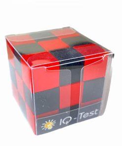 IQ Test cub rosu/negru Fridolin 17416