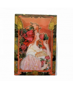 magnet Jugendstil - Parfumerie Rose Fridolino 18324