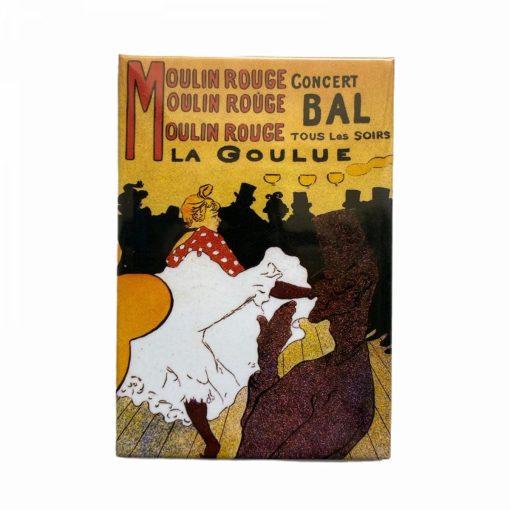 magnet Jugendstil - Moulin Rouge Fridolino 18322