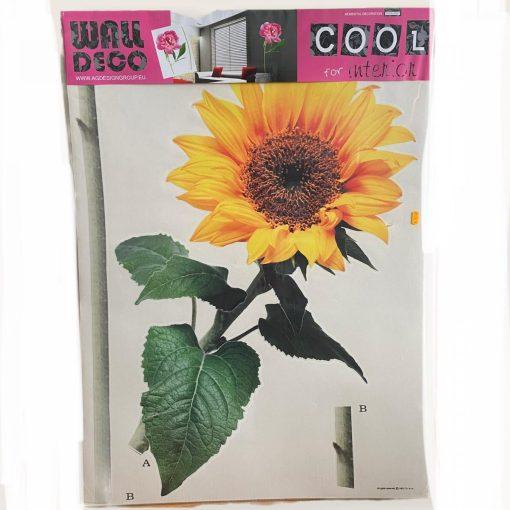 Autocolant de perete Floarea-soarelui AG Design