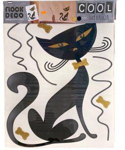 Autocolant perete cu pisica AG Design FL415