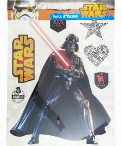 AG Design autocolant perete Disney Star Wars. Dimensiune ambalaj 65 x 90 cm, care contine 7 autocolante.