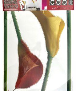 Autocolant perete floral AG Design F447