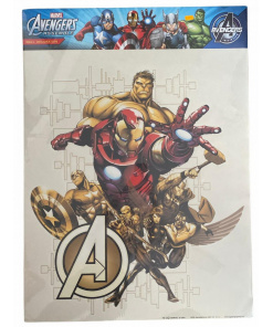 Autocolant perete MARVEL Avengers AG Design DK1718