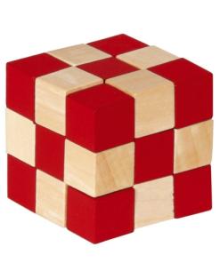 IQ Test cub rosu/natur Fridolin 17422